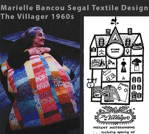 Marielle Bancou Segal Printed Textiles for The Villager Drexel Digital Museum 01