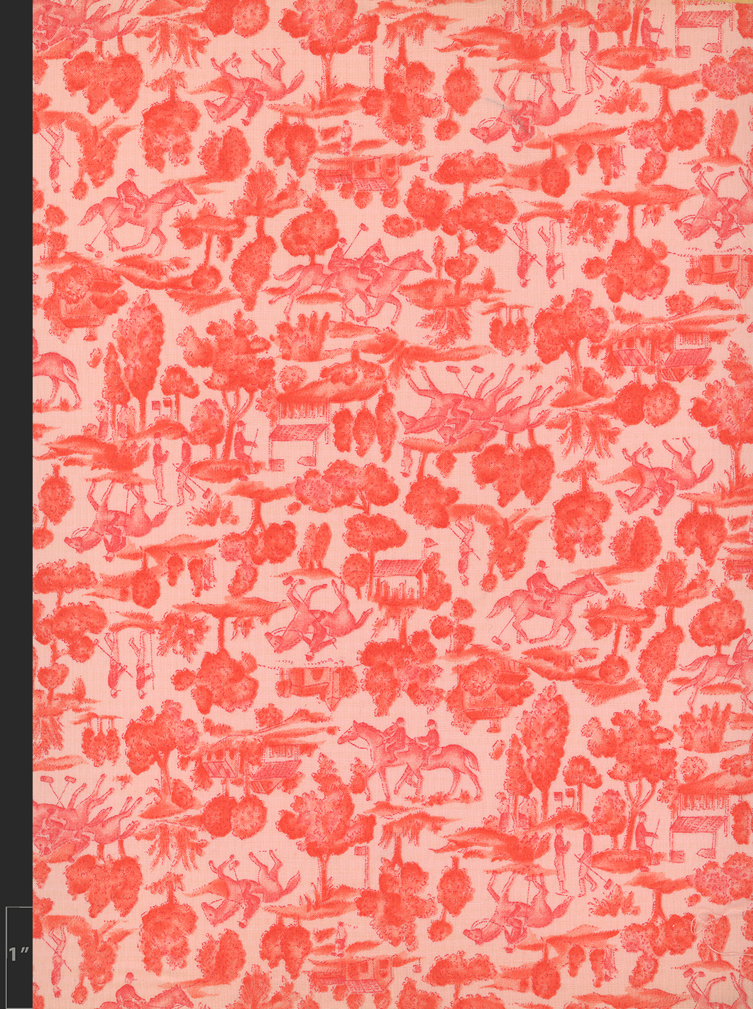 Marielle Bancou Segal conversational printed textile design for The Villager 1960s full 3 Drexel Digital Museum 11F