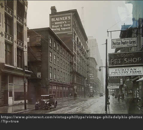 Max Raab Villager Blauners Philadelphia 1910