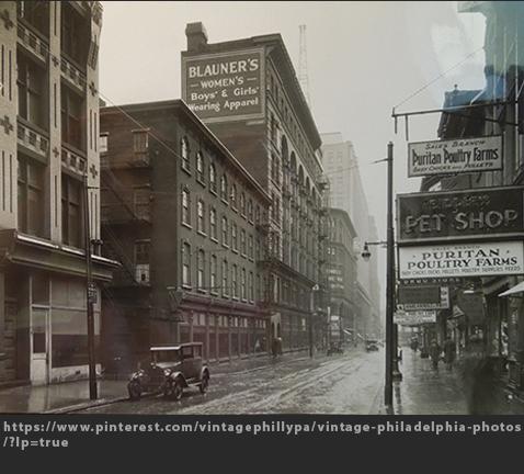 Max Raab Villager Blauners Philadelphia 1910 Drexel Digital Museum