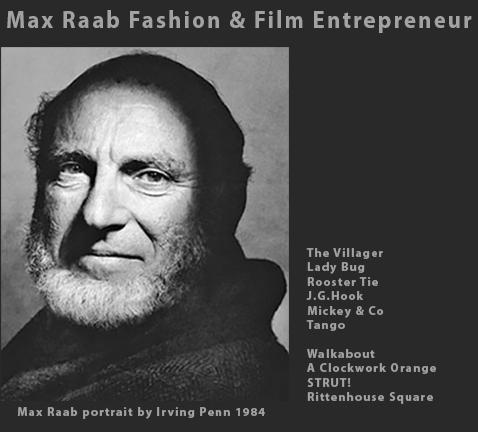 Max Raab Irving Penn portrait DDM