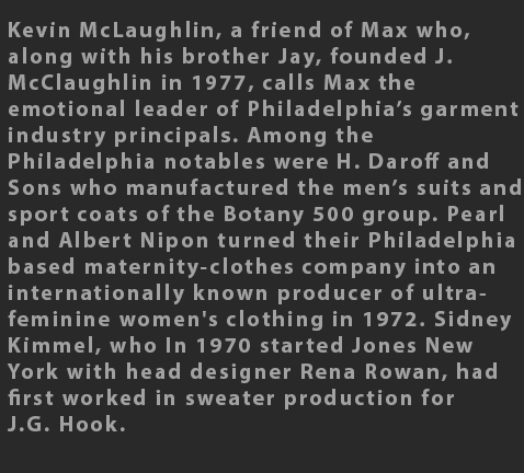 Max Raab Kevin McLaughlin 1970s fashion