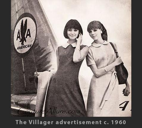 Max Raab Villager American Airlines Ad 1960s Drexel Digital Museum