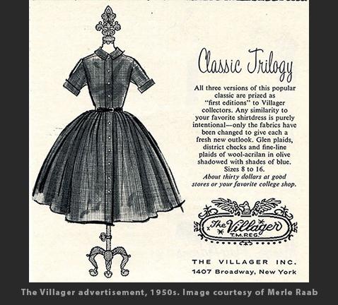 Max Raab Villager ad 1950s Drexel Digital Museum